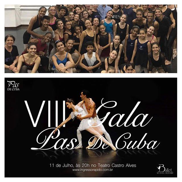 É amanhã! Não perde! VIII Gala Pas de Cuba! Parabéns a todos os participantes do @pasdecuba 2016! Amanhã é uma grande dia! Estamos todos super ansiosos. #Ballet #VIIIpasdecuba #pasdecuba2016 #balletrosanaabubakir #VidaNoBRA #GalaPasDeCuba