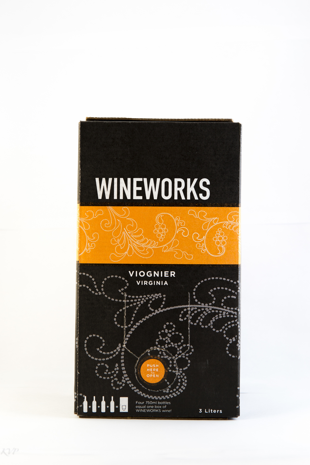 Wineworks Box Viognier $40 This wine, made with Virginia's famous Viognier grape, is fermented in a combination of stainless steel tanks and neutral barrels. It is classic Virginia Viognier: aromatic and round, with mouthwatering fruit character that finishes crisp and clean