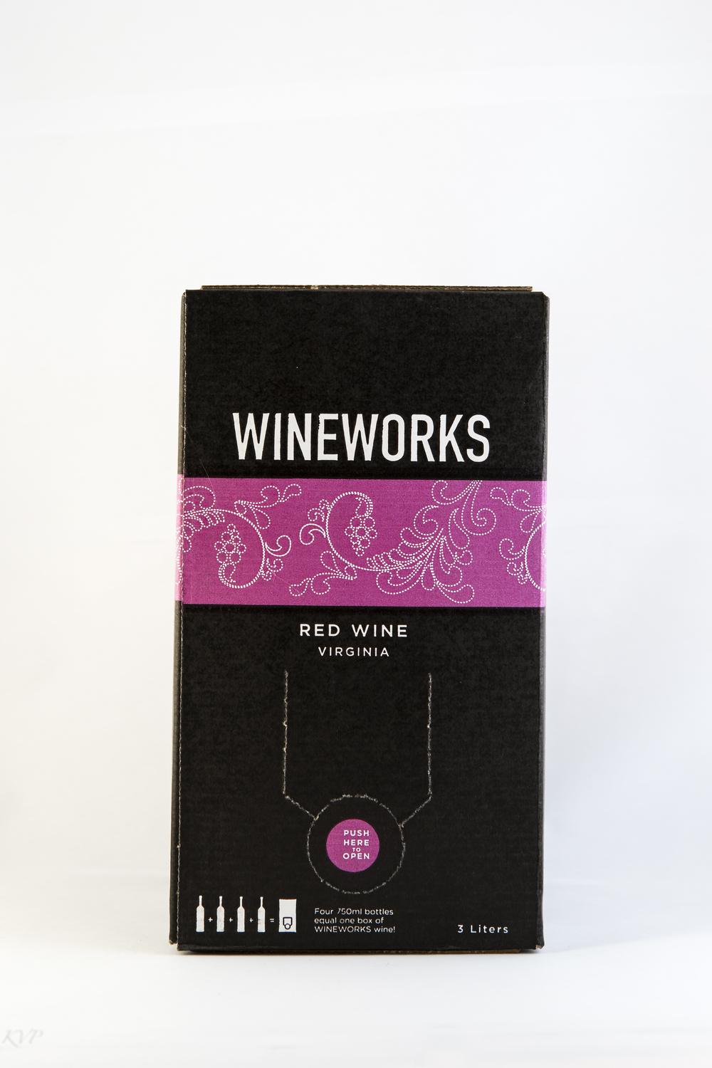 Wineworks Box Red Wine $40  Like the white blend, we design this wine depending on our mood and raw materials. But this year's includes Cabernet Franc, Cabernet Sauvignon, and Chambourcin. It is medium bodied, fruit driven, easy going, and you can take it anywhere.