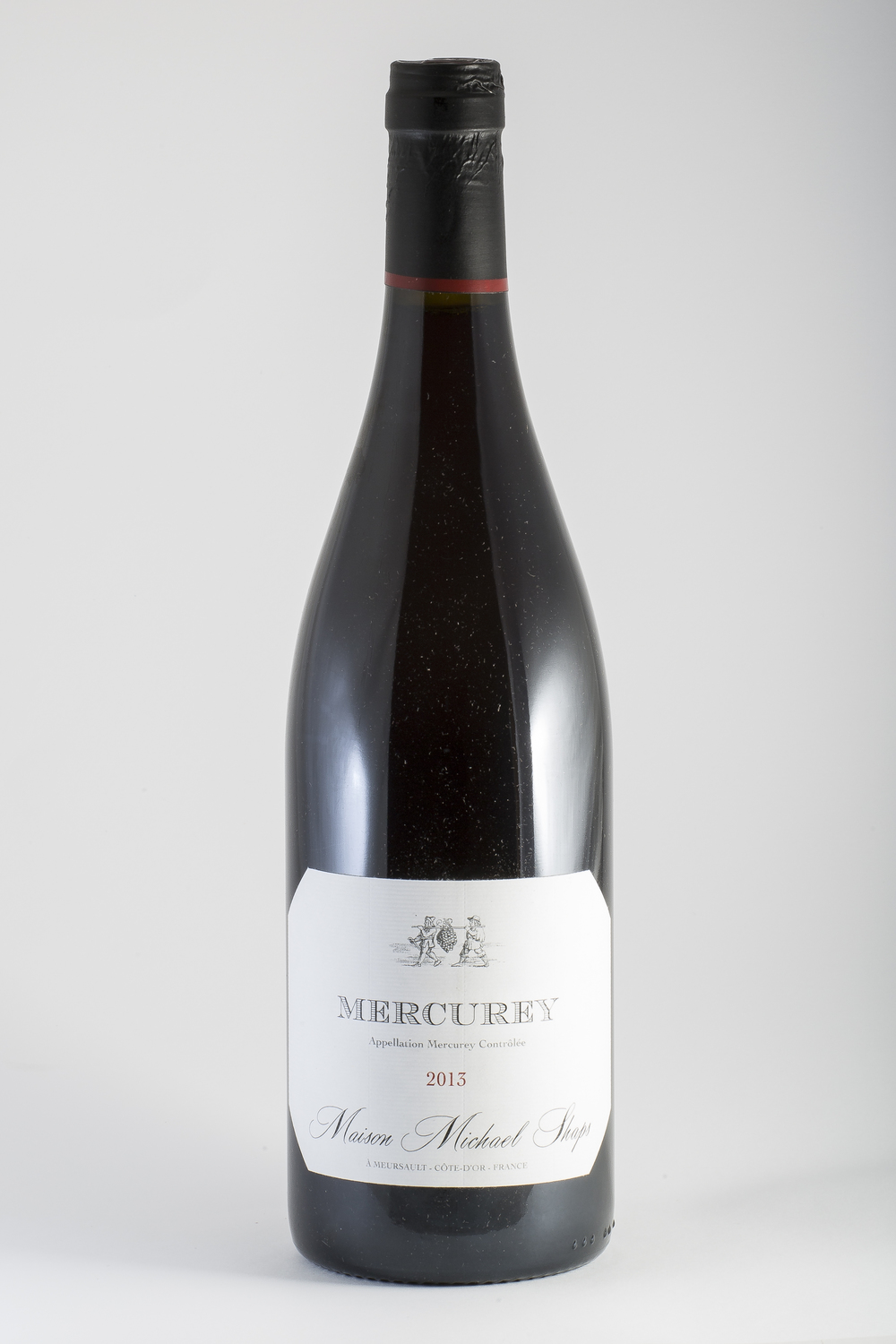 Maison Shaps 2014 Mercurey Rouge   $32 The Pinot Noir site in this appellation is known for it concentration and roundness.  We try to bring out the darker red fruit notes and to enhance them with subtle tannins and slight oak nuances.  The traditional fermentation and aging allow the natural nuances to shine through and produce a great value in pinot noir.