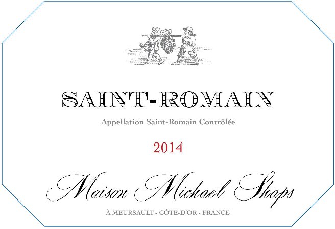 Maison Shaps 2014 Saint-Romain  $34 Saint-Romain is a tiny village behind Meursault on steep slopes. This particular vintage came from the Sous le Chateau vineyard block. Only 50 cases were produced of this bright, fresh, light weight Chardonnay.