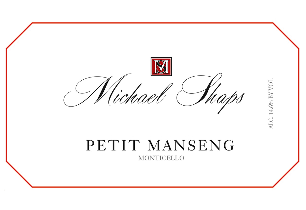 Michael Shaps 2015 Petit Manseng $30 From the Honah Lee vineyard, this is fermented mostly in French oak barrels, one-third new, with a small percentage in stainless steel tank, and was bottled after six months of aging with no malolactic fermentation. It is bone dry, but brimming with the sweetness of  tropical fruit notes, and is full bodied and very concentrated. Made possible by our unique growing conditions, this style of wine is specific to Petit Manseng grown in central Virginia.