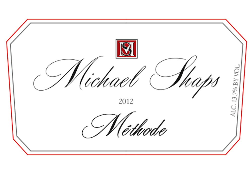 Michael Shaps 2012 Méthode $35 50% Cab Franc and 50% Riesling from Mt. Juliet. Both fermented in neutral French oak barrels and aged separately before blending prior to bottling in July of 2014. We chose to blend these two varietals together to make the wine more complex and fuller bodied. The Riesling brings fruit, freshness, and a great food pairing option. The Cab Franc brings more body to the blend. The two together offers a balance of fruit and complexity.