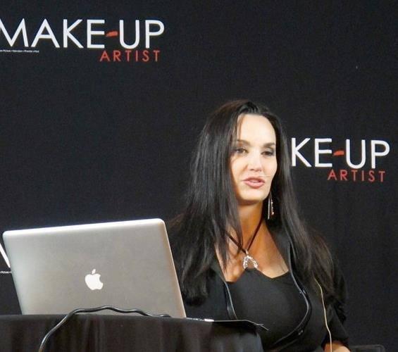 Donna Mee speaking at IMATS, Sydney Australia