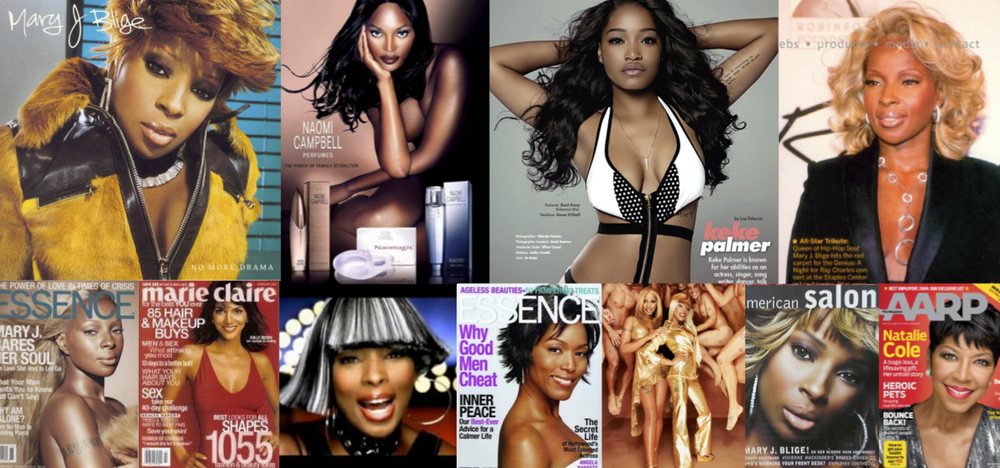 Celebrity Clients and Portfolio work of Hairstyling & Makeup by Tre Major