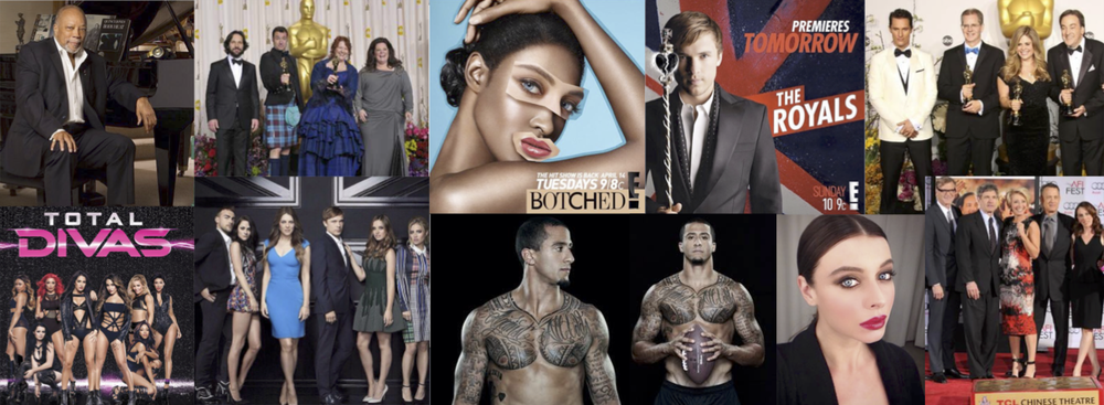 Celebrity Clients & Portfolio work of Makeup & Men's Grooming by KIMBERLY BRAGALONE