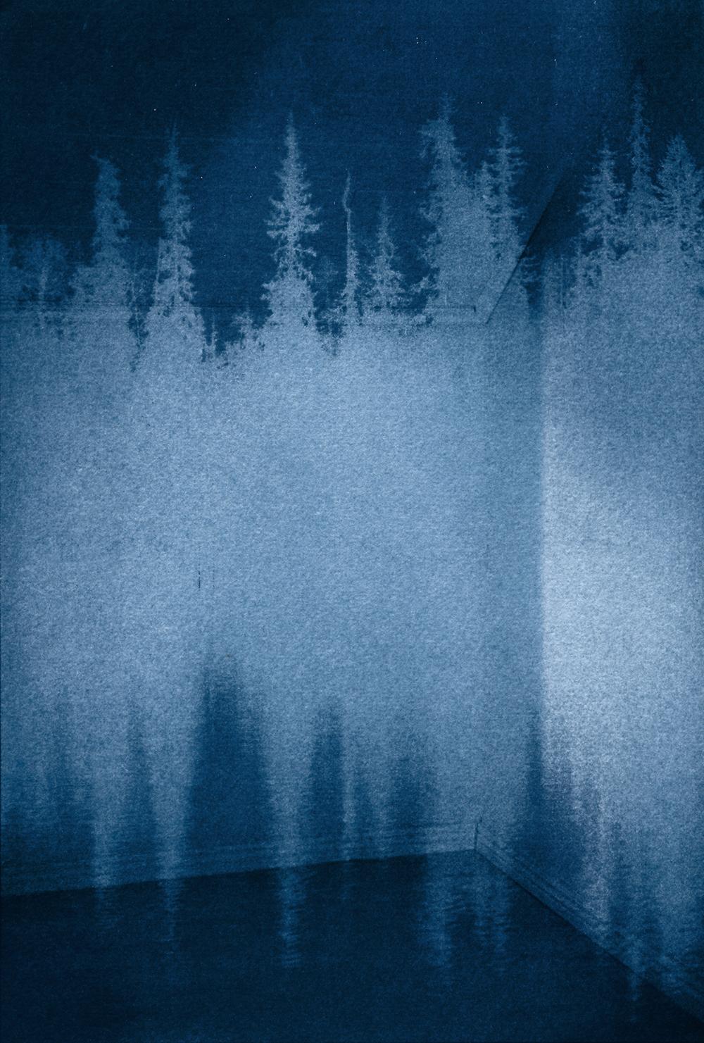 Trace ((12), 2018,  Pigment print, Framed, 25x32cm