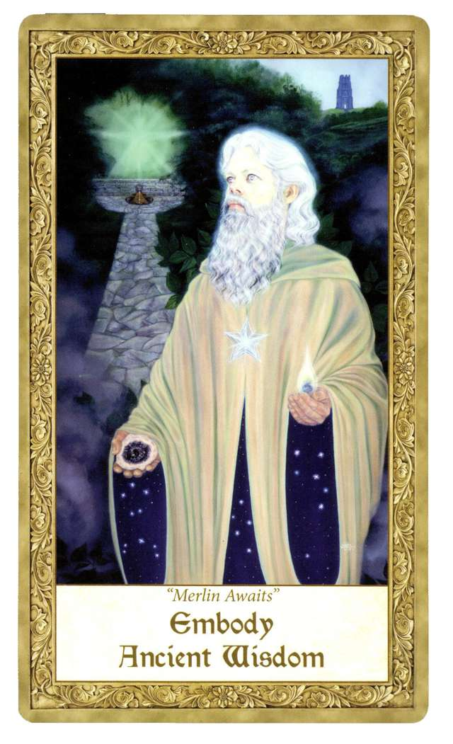 "From ""Art Through the Eyes of the Soul"" oracle deck"