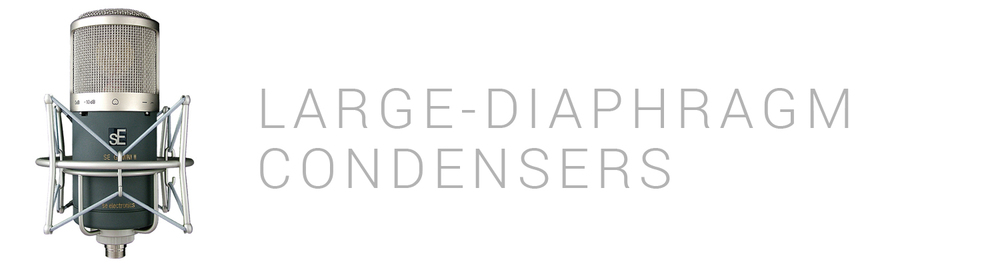 Large-Diaphragm Condensers