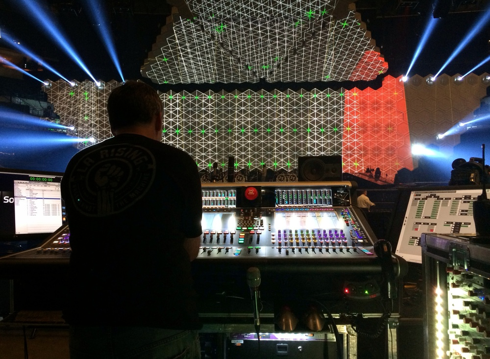 Big board + big lights + big sound = big show.