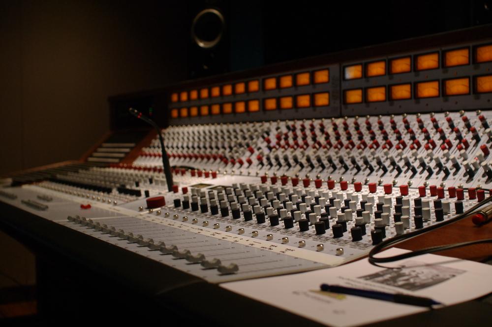 Recording consoles.