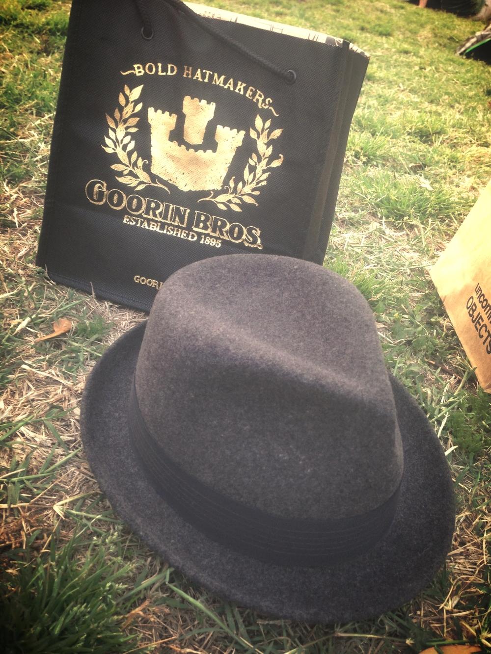 Hats from Goorin Bros.