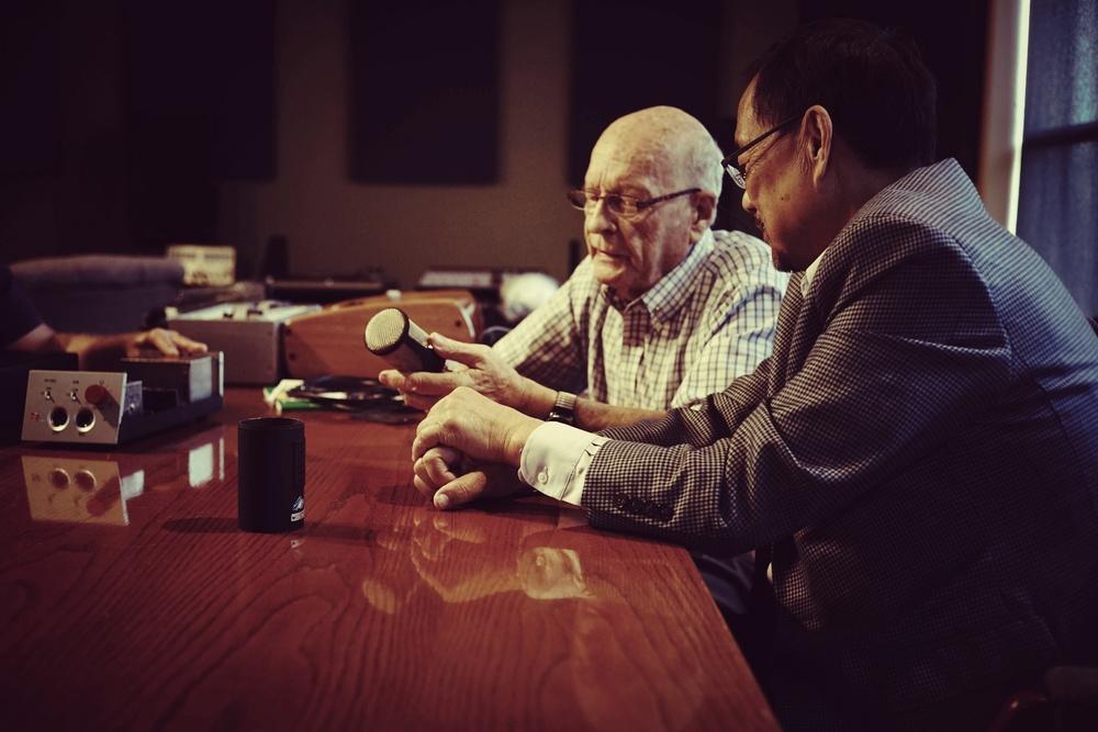 Mr. Rupert Neve & Mr. Siwei Zou in Texas,October 2014.