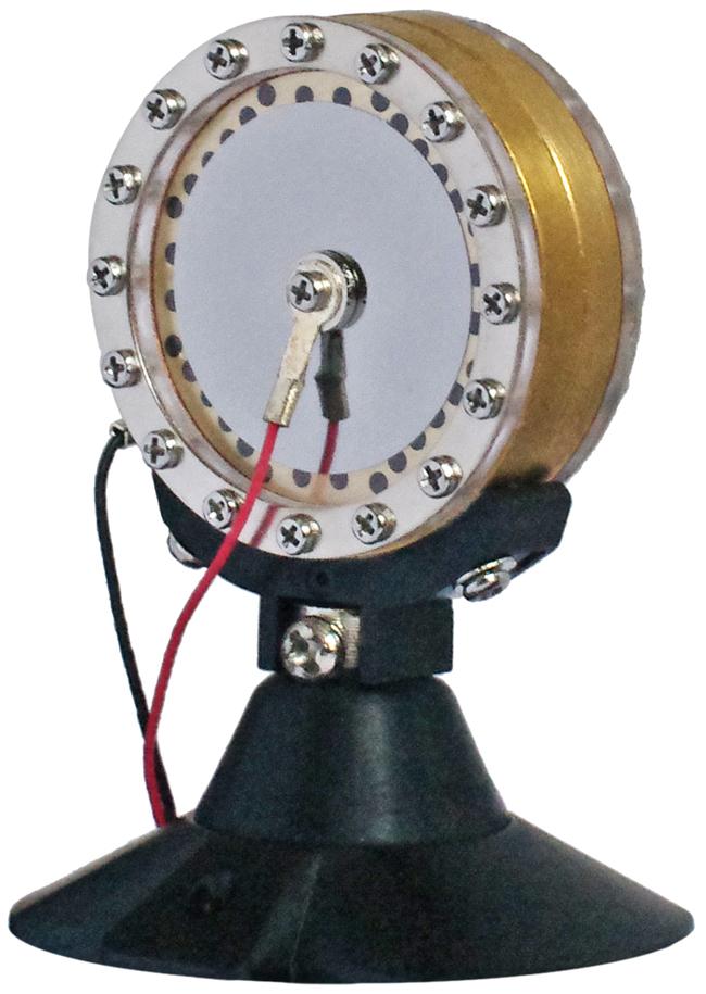 The X1 D's ultra-responsivetitanium capsule.