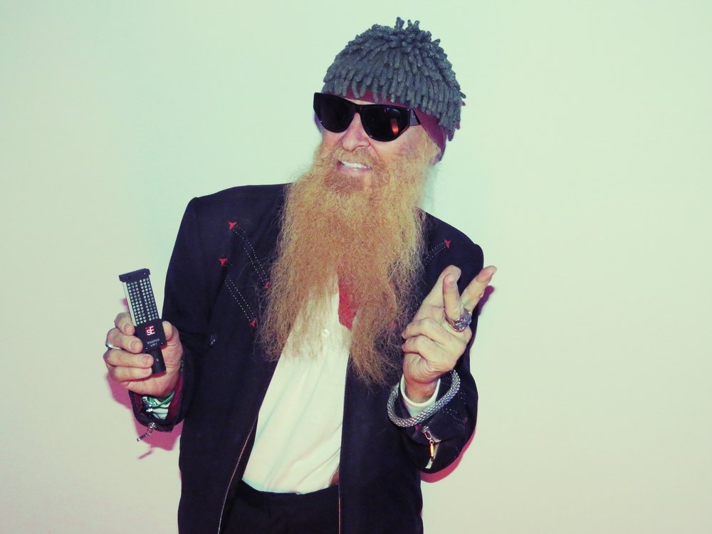 Billy Gibbons  (ZZ Top, The BFGs).