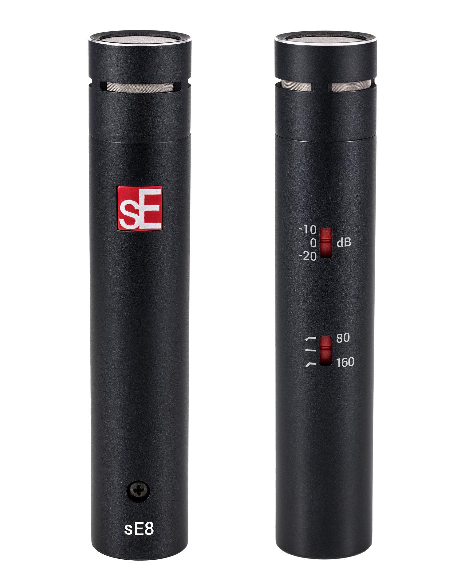 Se Electronics Introduces Se8 Small Diaphragm Condenser Microphone Ribbon Diagram