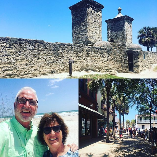 Happy Easter from Saint Augustine! 😘💐🐰