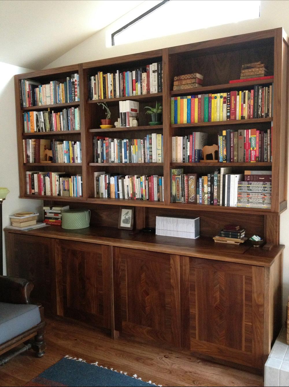 Built-in Cabinets/Bookshelves- Guerneville