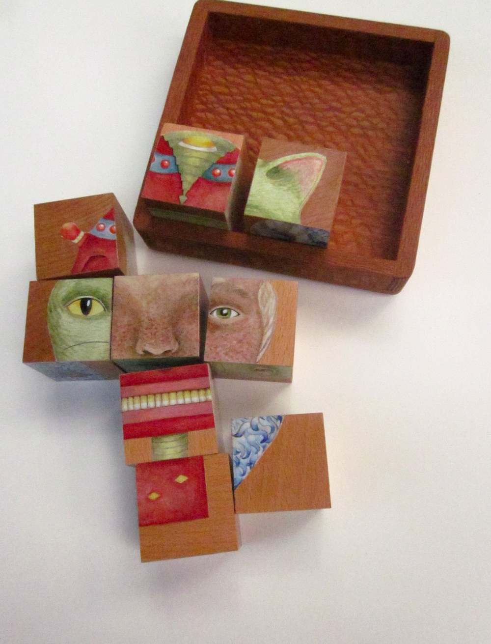 Shortwave Toys  Elettra Blocks