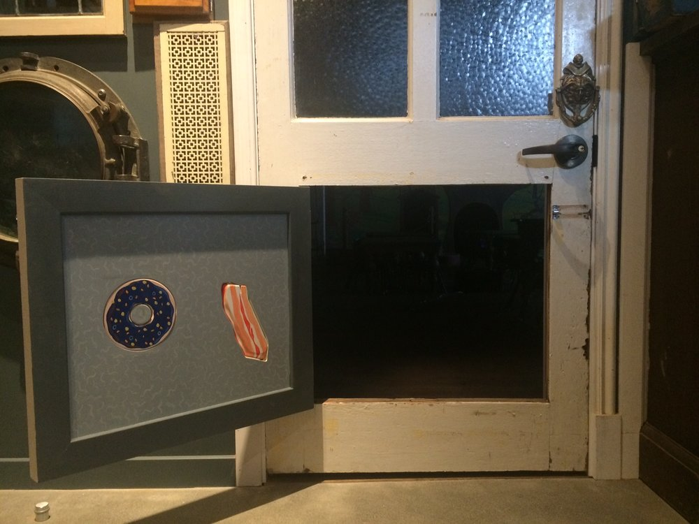 Bacon and Donut Doors Within a Door