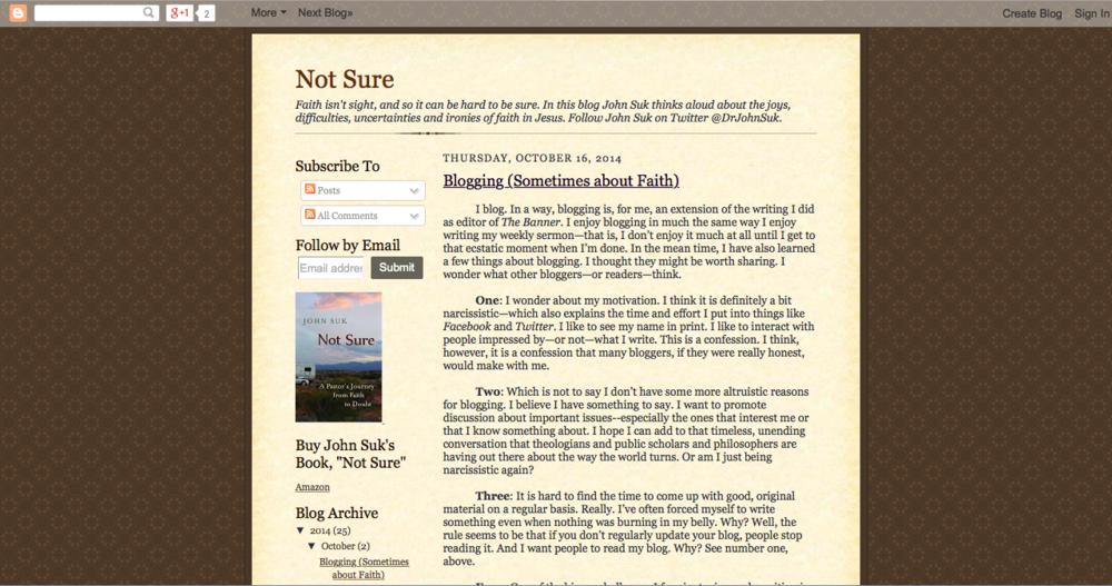 Dr. John Suk's Blog