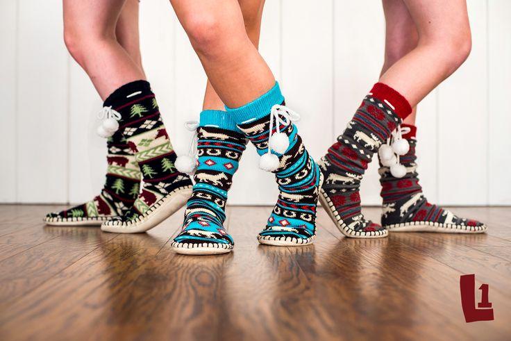 Moose Fair Isle Mukluk Slippers — PTBO Mailer
