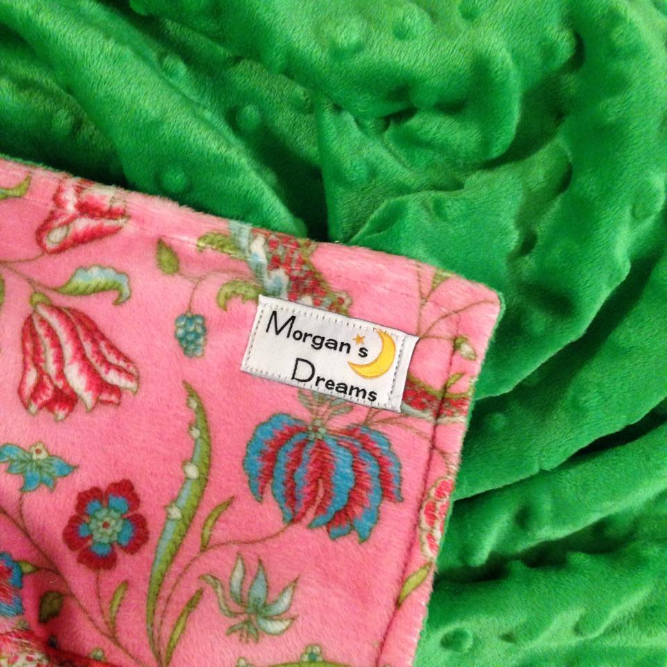 Pink green minky.jpg