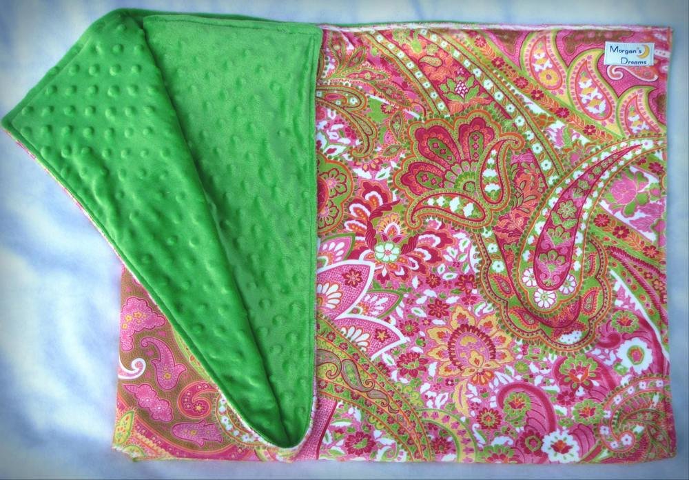 Pink green paisley minky with green.jpg