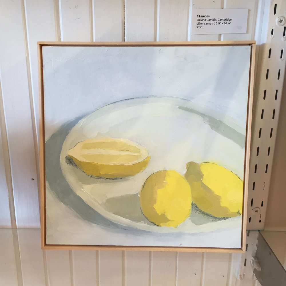 3 Lemons  by Juliana Gamble - would be perfect in a kitchen
