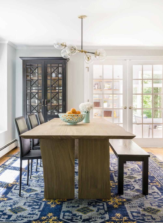 Rachel Dunham Design: A Bold & Eclectic Dining Room
