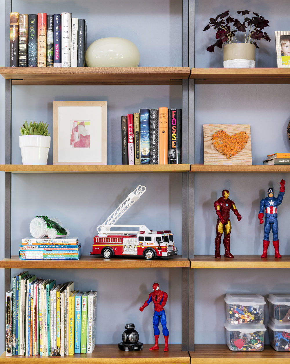 Rachel Dunham Design: A Bold & Eclectic Family Room