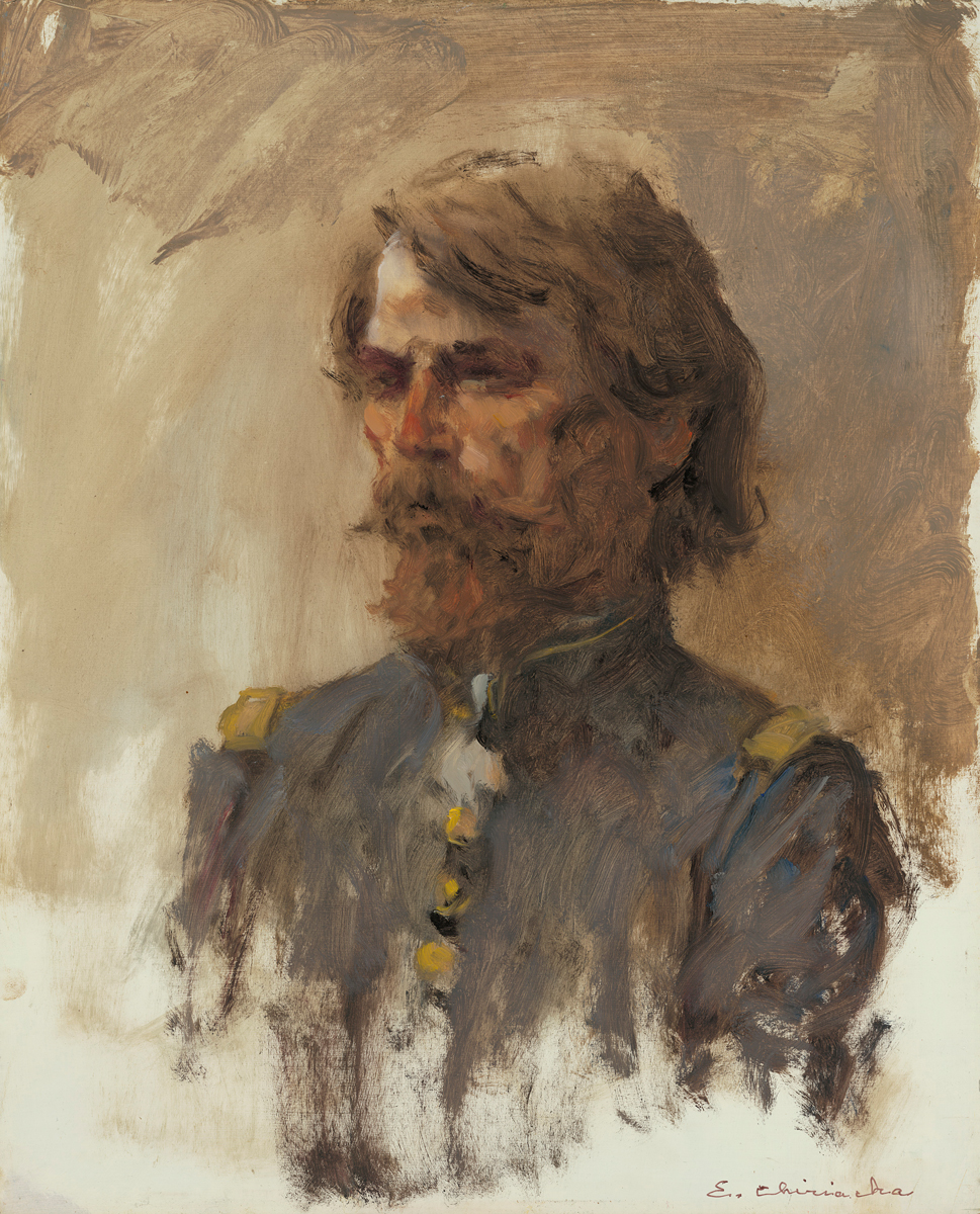 Portrait of General Custer