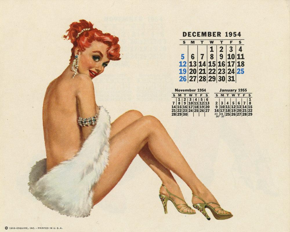 Esquire Girl 1954