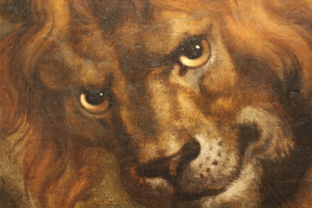 Detail from a Rubens Tapestry design.