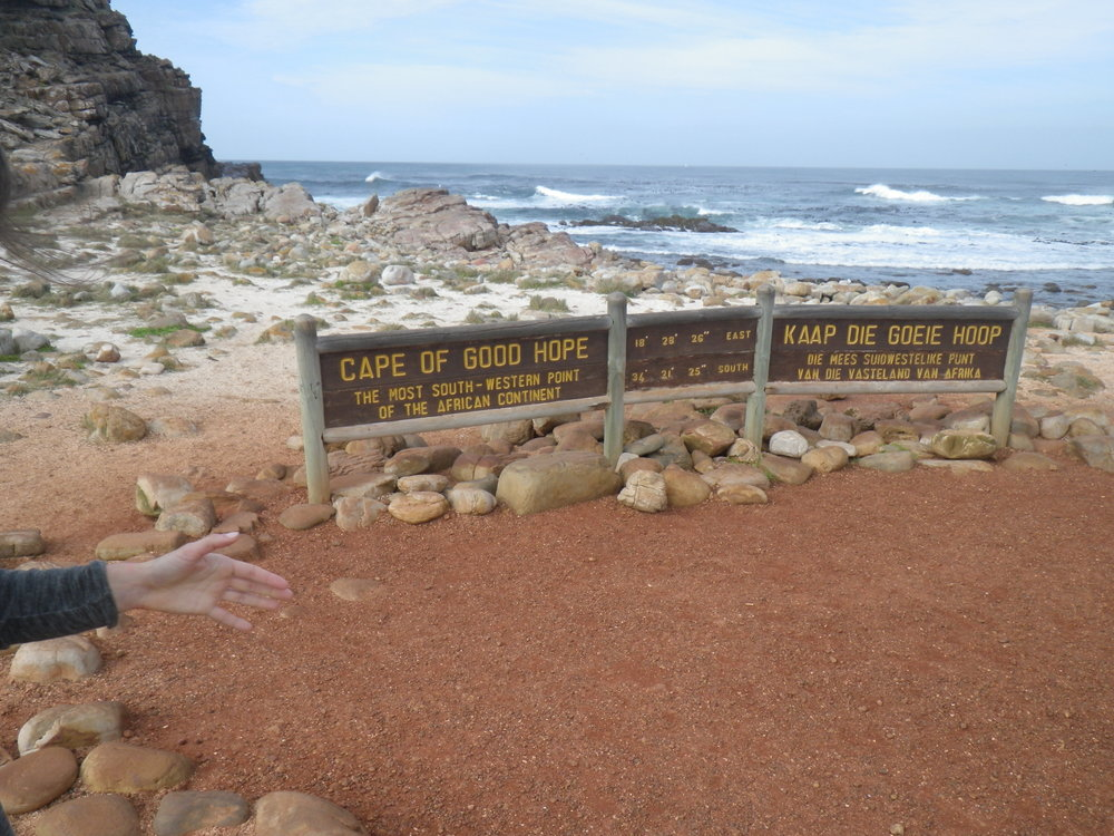 ape of Good Hope- Southern most tip of the African Continent