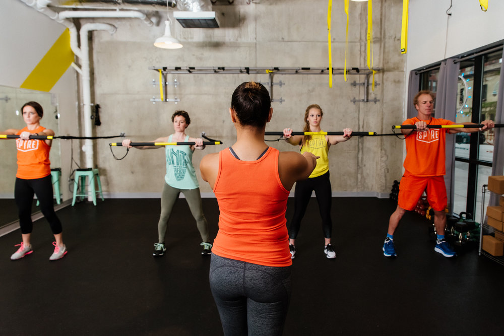 Get InSPIREd   Cycling - Rowing - TRX    Purchase Classes