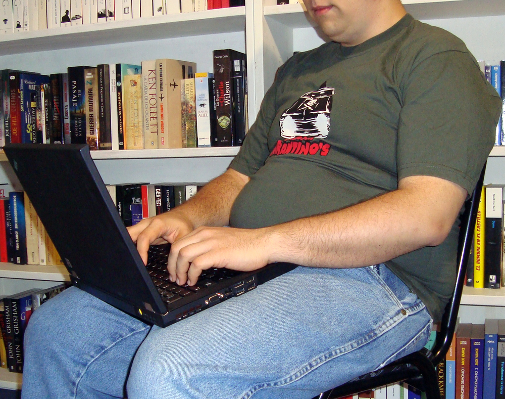 Sedentary Lifestyle:Obesity and Computers  by  FBellon  on  Flickr