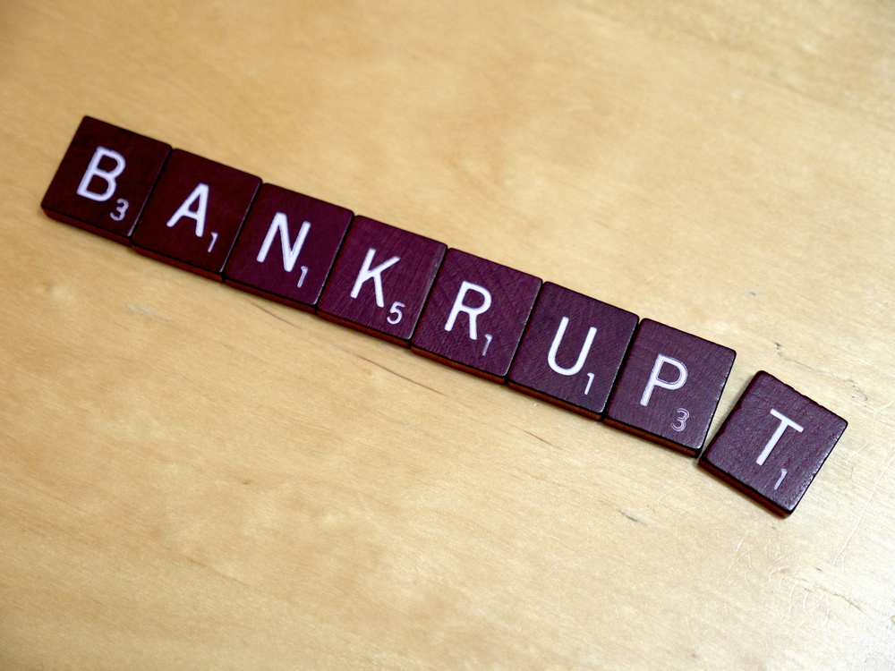 Bankrupt  by  Simon Cunningham  on  Flickr