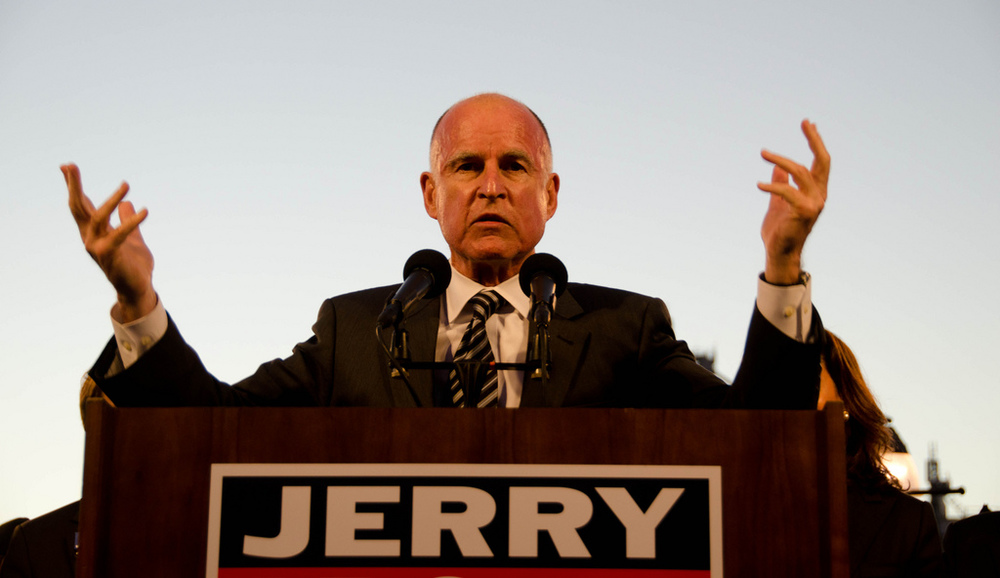 Jerry Brown Oakland Rally  by  Steve Rhodes  on  Flickr