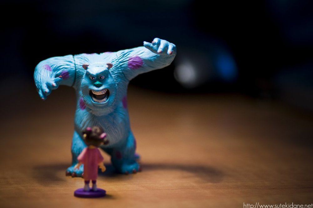 Pixar: Sully and Boo  by  Thanh Nguyen  on  Flickr