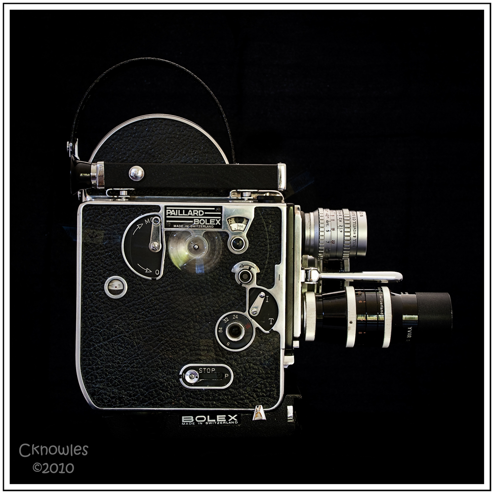 Bolex Side View in motion  by  Charles Knowles  on  Flickr