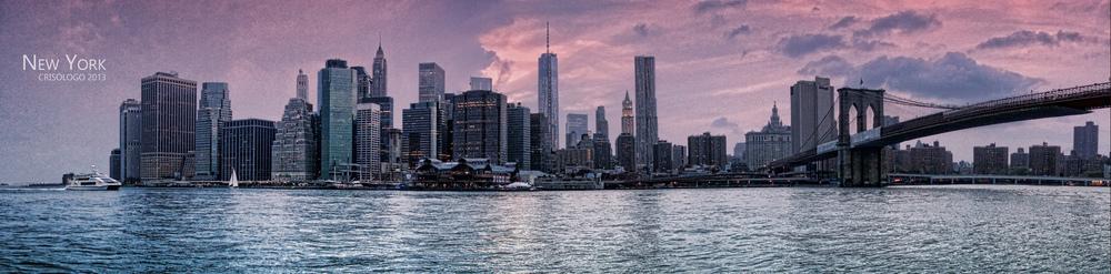 New York Skyline by Nacho on Flickr