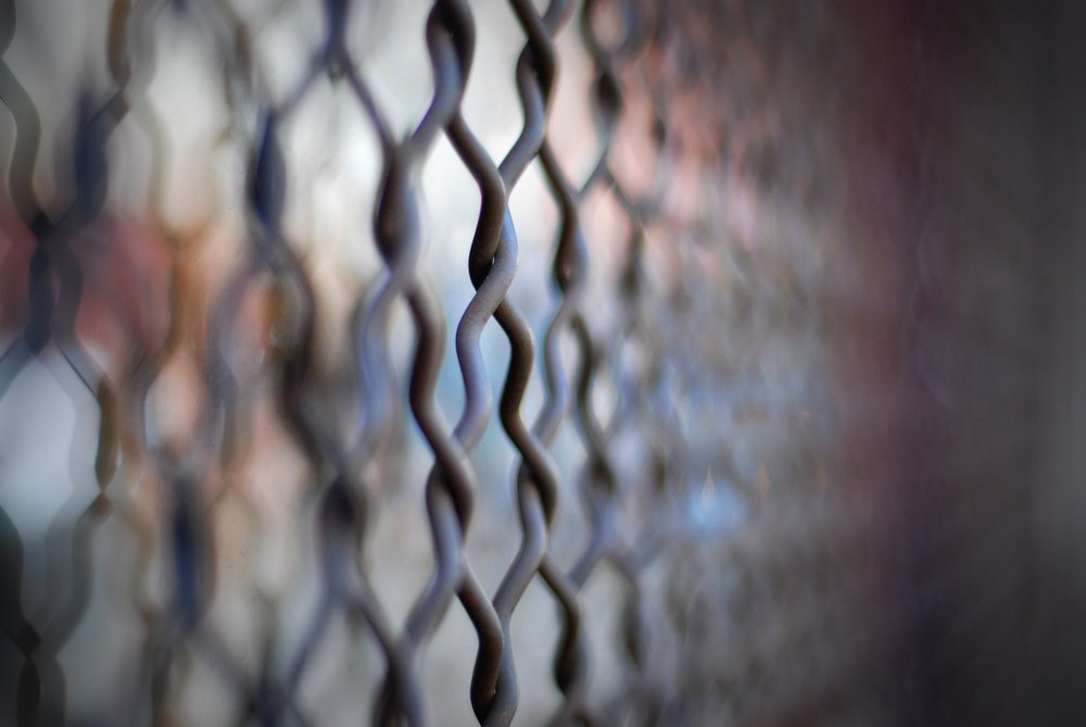 bokeh link fence  by  Will Montague  on  Flickr