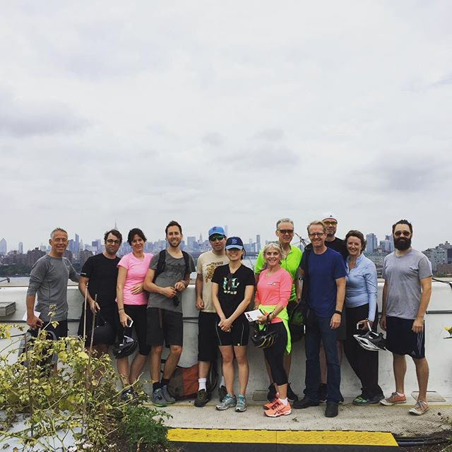 The 2016 NYC Honey Week concluded today with an awesome urban ecology bike tour led by our friends at @turnstiletours! After visiting the nyc native pollinator landscape at the site of the former naval cemetery, they popped up to @brooklyngrange for a quick honey tasting and then headed over to @kingscountydistillery for some honey whisky!  BIG Thank you to all of the busy bees that helped make honey week 2016 possible. #honeylove #🐝 #nychoneyweek