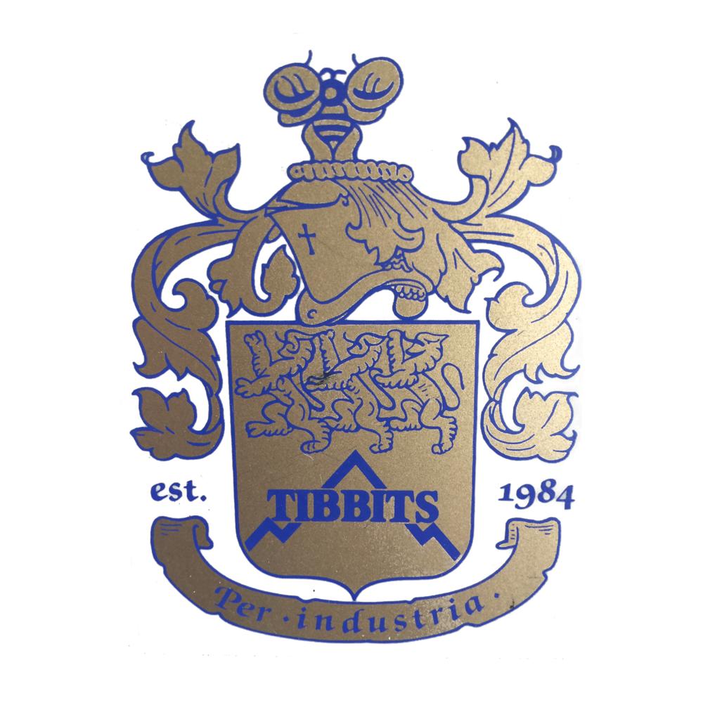Original Tibbits Logo, 1984