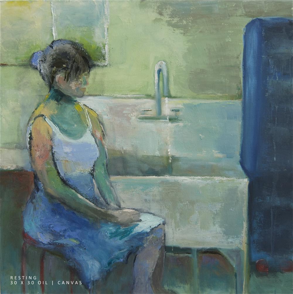 Resting 30x30 Oil-Canvas NEW .jpg