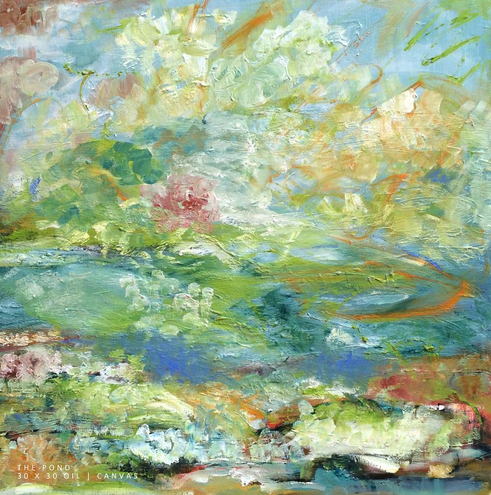 The Pond 30 x 30 Oil-Canvas NEW.jpg