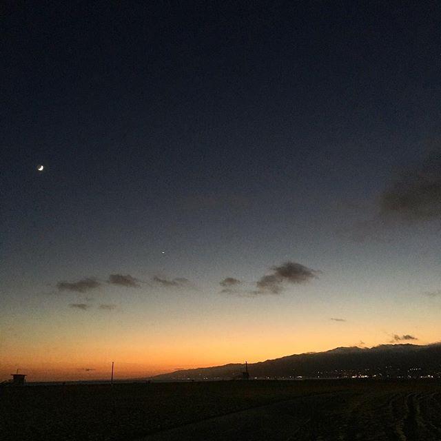 California beach sunsets 😍