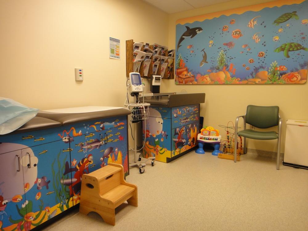 Pediatric Care Room
