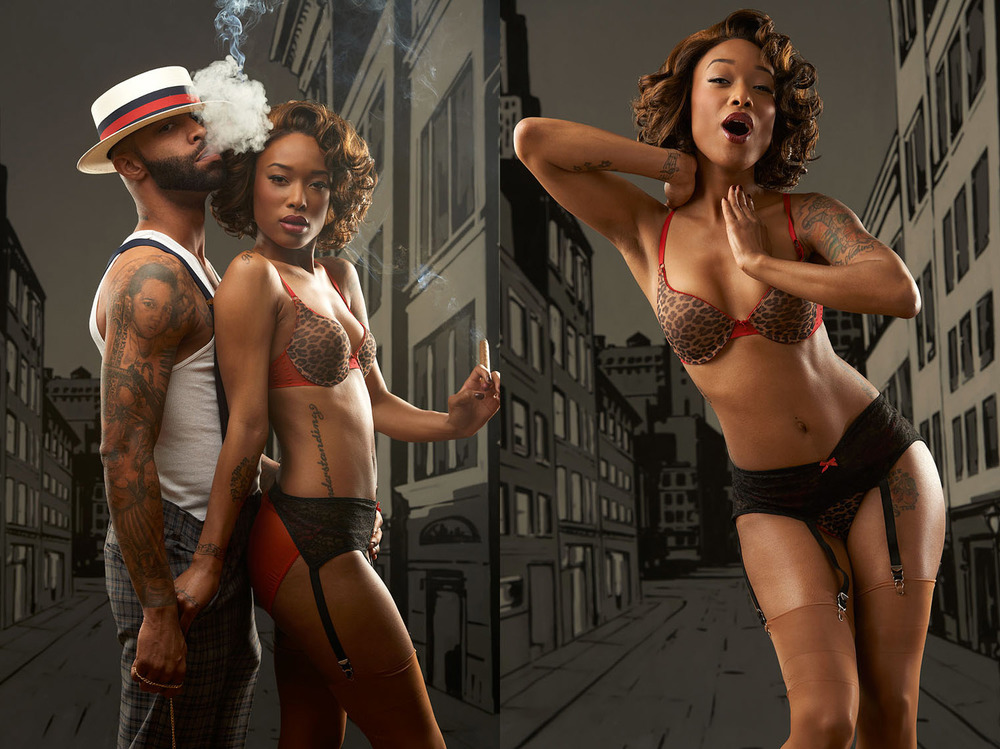 Joe Budden and Sanura